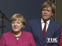 Angela Merkel und Hajo Schumacher