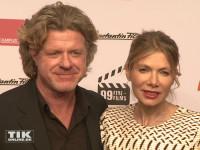 Ursula Karven kam mit ihrem Verlobten Mats Wahlström zum 99Fire Film Award