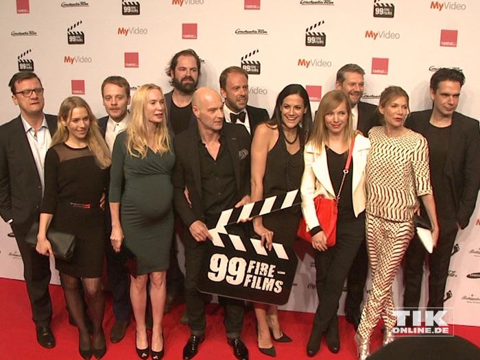 Die prominent besetzte Jury des 99Fire Film Award, unter anderem mit Nadja Uhl, Kai Wiesinger, Ursula Karven und Bettina Zimmermann
