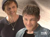 Morten Harket und Pål Waaktaar von der norwegischen Pop-Band a-ha