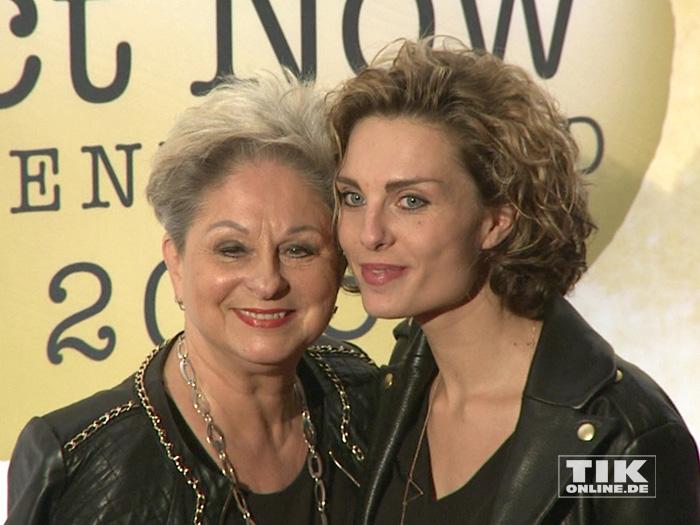 Dagmar Frederic mit Tochter Maxie bei den Act Now Jugend Awards 2015 in Berlin