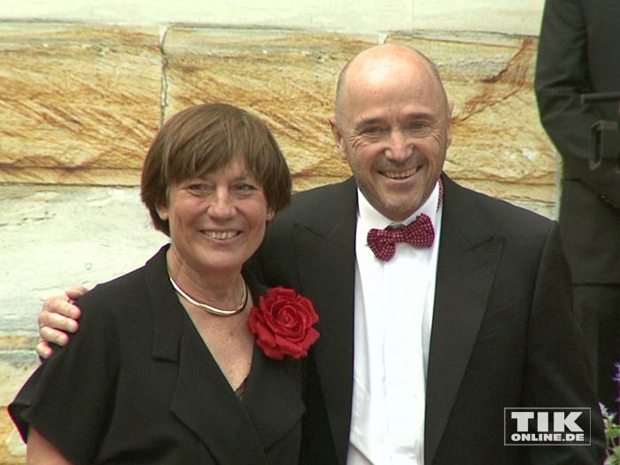 Rosi Mittermaier und Christian Neureuther bei den Bayreuther Festspielen 2015