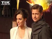 """Brad Pitt und Angelina Jolie bei der Premiere zum Film """"Der seltsame Fall des Benjamin Button"""" in Berlin"""