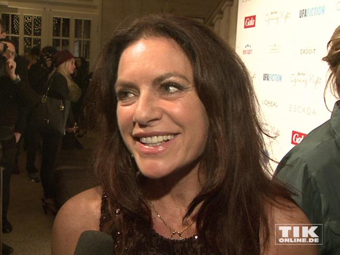 Bester Laune zeigte sich Christine Neubauer bei der Berlinale Gala Opening Night