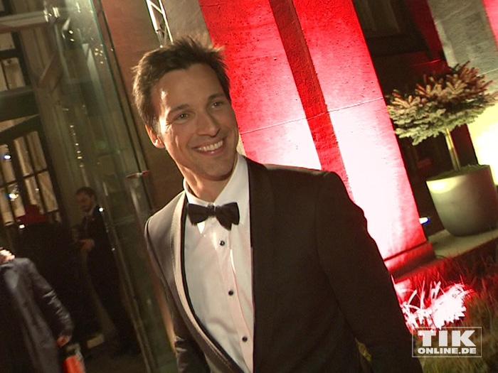 Wie immer im schicken Zwirn kam Florian David Fitz zur Berlinale Gala Opening Night