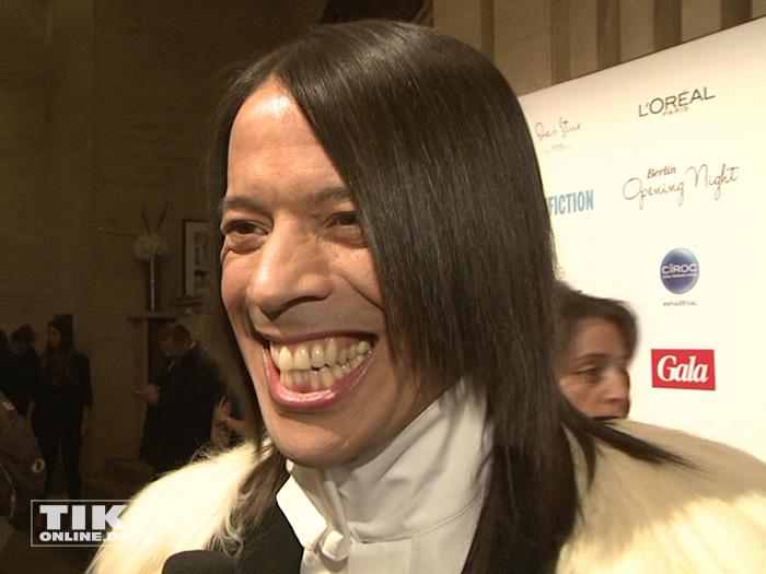 """""""Let's Dance""""-Juror Jorge Gonzalez zeigte bei der Berlinale Gala Opening Night Zähne"""