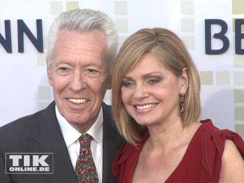 Maren Gilzer mit Ehemann Egon F. Freiheit
