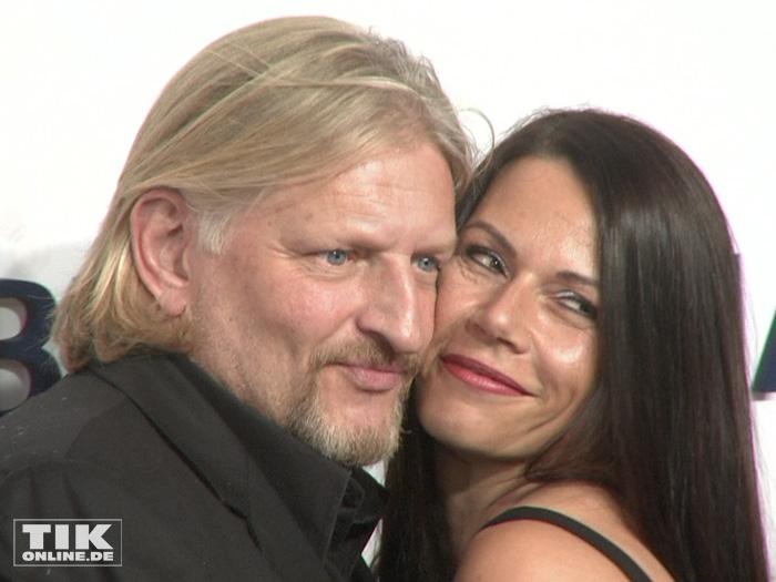 Family photo of the actor, dating Doreen Tünschel, famous for Das Leben ist eine Baustelle.