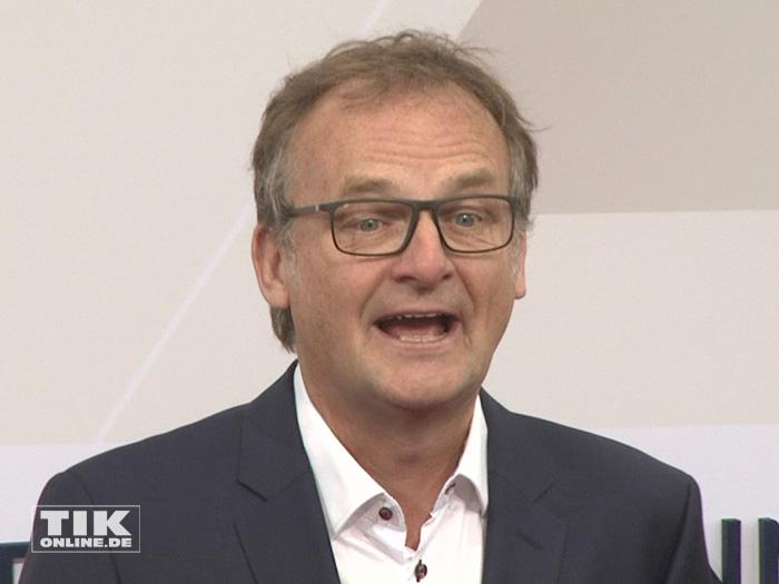 Auch TV-Mann Frank Plasberg kam zur Bertelsmann Party 2015