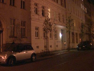 Daniel K�blb�ck auf Wohnungssuche in Berlin