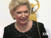 "Maria Elisabeth Schaeffler beim ""Goldenen Lenkrad 2015"""