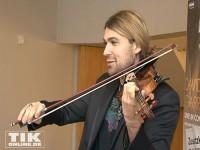 David Garrett mit seiner Stradivari
