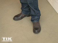 David Garretts Schuhwerk