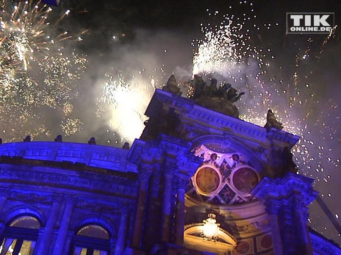Die Semperoper erstrahlte in festlichem Glanz beim Dresdener Semperopernball 2015