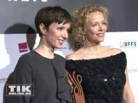 Julia Koschitz und Katja Riemann beim Deutschen Schauspielerpreis 2014
