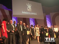 Gruppenbild vom Deutschen Schauspielerpreis 2014