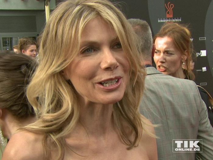 Ursula Karven beim Deutschen Schauspielerpreis 2015