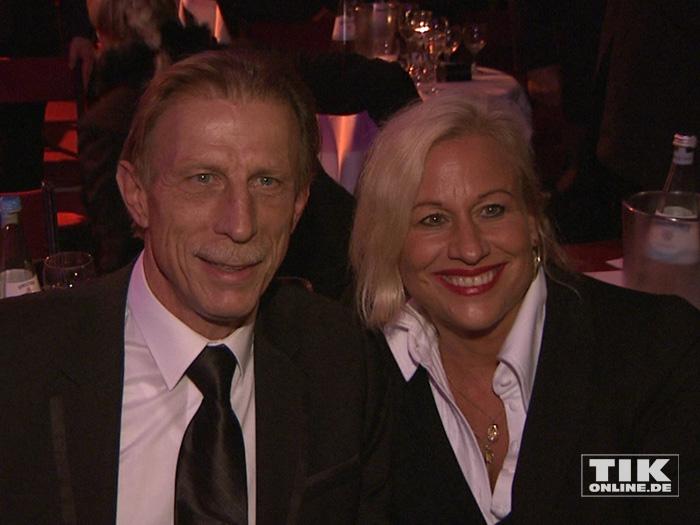 Christoph Daum und seine Ehefrau Angelica Camm-Daum bei der Diabetes Gala 2015