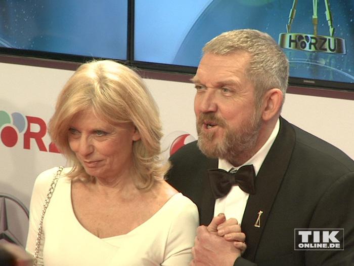 Dietmar Bär und Sabine Postel bei der Goldenen Kamera 2015