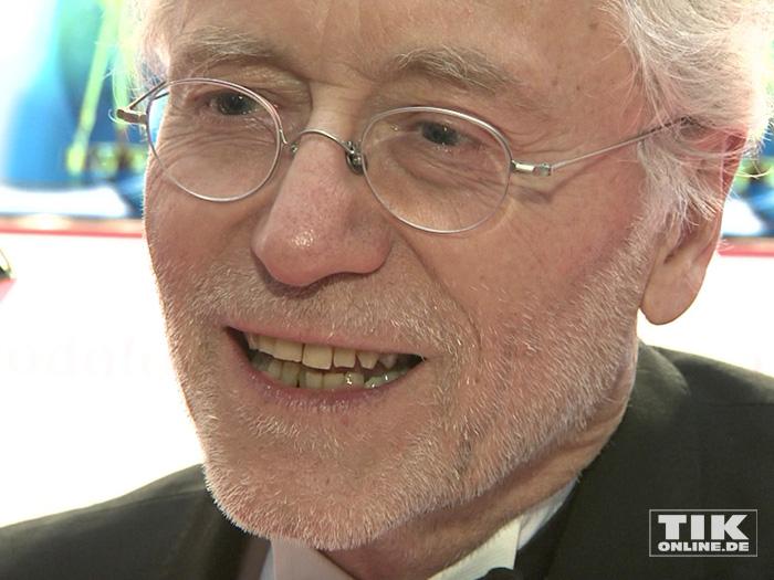 """Joachim Hermann Luger aka """"Vater Beimer"""" bei der Goldenen Kamera 2015"""