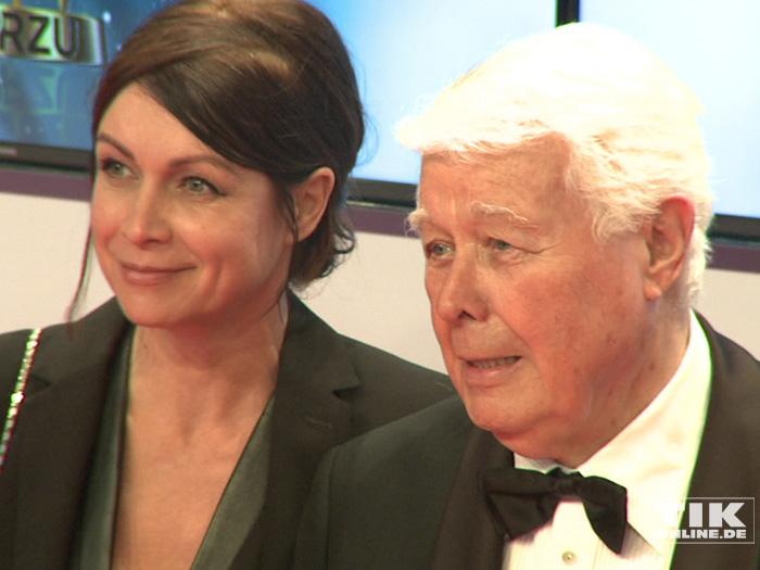 Peter Weck mit seiner Tochter Barbara bei der Goldenen Kamera 2015