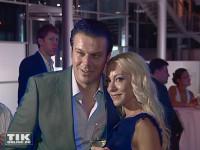 """Ex-Playmate und Millionärs-Tochter Nina Kristin - hier mit Alain Midzic zu sehen - gehört zu den """"Promi Big Brother""""-Kandidaten 2015"""