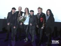 """Die Scorpions und Katja von Garnier bei der Premiere von """"Forever And A Day"""" in Berlin"""