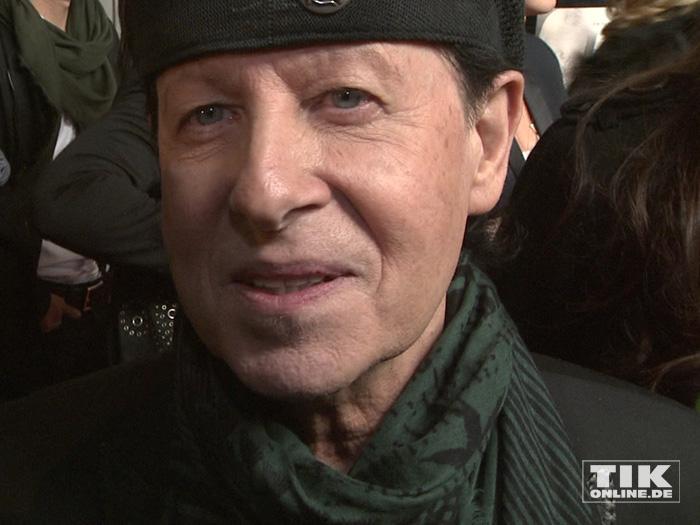 """Scorpions-Sänger Klaus Meine bei der Premiere von """"Forever And A Day"""" in Berlin"""