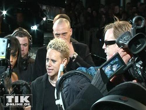 Martin Gore und Andy Fletcher von Depeche Mode