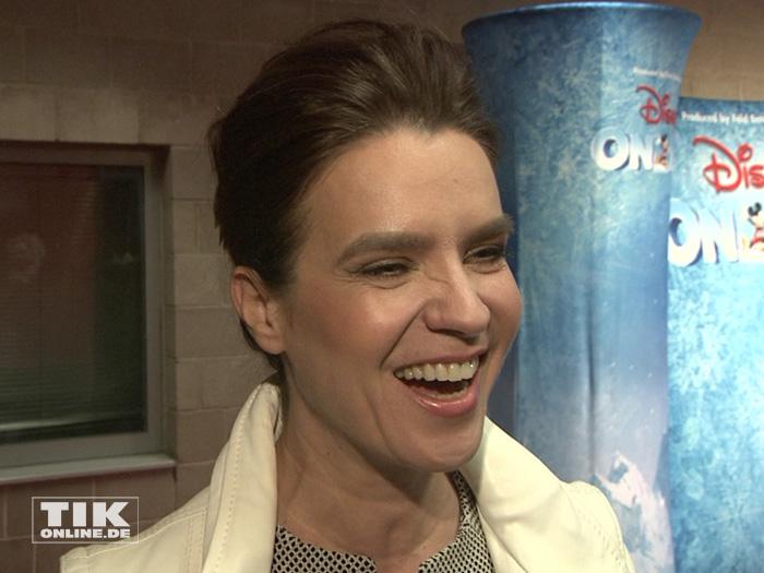 """Eiskunstlauf-Star Katarina Witt war begeistert von der Premiere von """"Disney On Ice"""""""