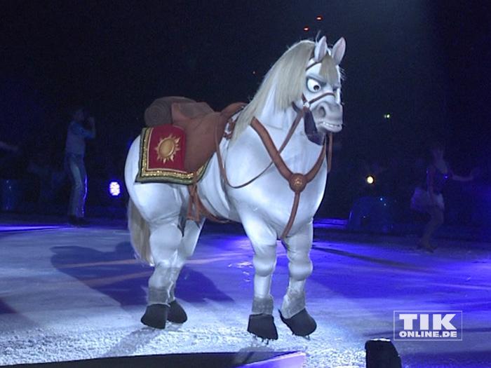 """Hengst Maximus aus """"Rapunzel - Neu verföhnt"""" bei der Premiere von """"Disney On Ice"""""""