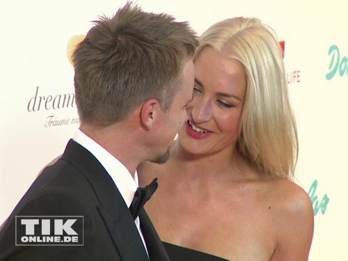 Sarah Connor und Florian Fischer verliebt beim Dreamball 2013