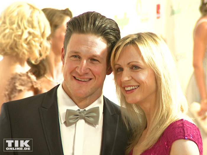 Matthias Steiner mit Ehefrau Inge