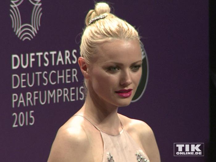 Franziska Knuppe bei den Duftstars 2015