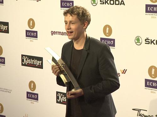 Auch Tim Bendzko gehörte zu den glücklichen Preisträgern