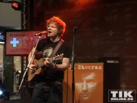 """Der Brite Ed Sheeran gab seinen aktuellen Hit """"A Team"""" zum Besten"""