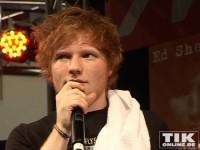 Ed Sheeran war leicht schüchtern doch seinen Fans machte das rein gar nichts aus