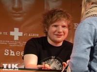 Ed Sheeran versuchte selbst mit jedem Fan einen kurzen Plausch zu halten