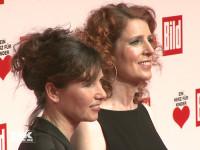 """Monica Lierhaus kam mit ihrer Schwester Eva zur """"Ein Herz für Kinder""""-Gala 2015 in Berlin"""