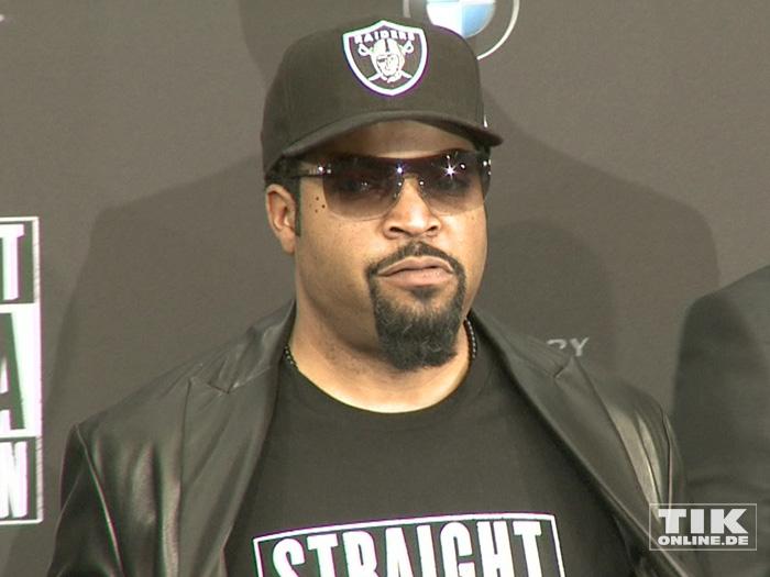 """Ice Cube bei der Premiere von """"Straight Outta Compton"""" in Berlin"""