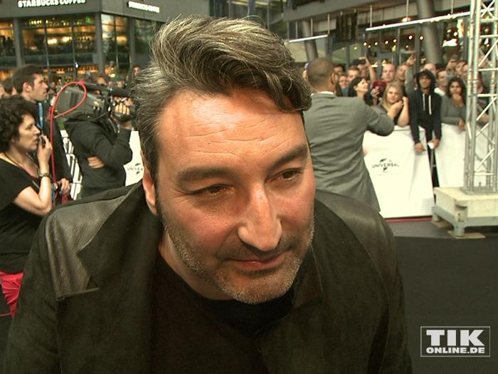 """Musikproduzent Mousse T bei der Premiere von """"Straight Outta Compton"""" in Berlin"""