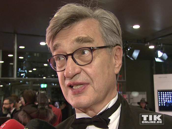 Regisseur Wim Wenders beim European Film Award EFA 2015 in Berlin