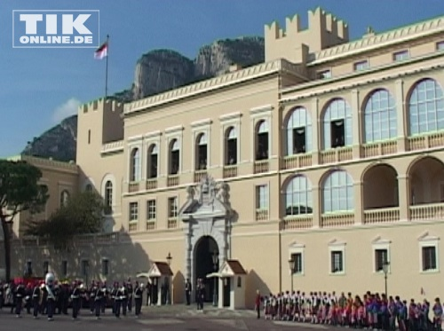 Der Palast der Grimaldis in Monaco.