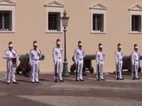 Die Garde stand ordentlich Spalier