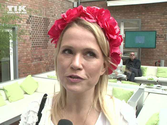 Nova Meierhenrich beim Gala Fashion Brunch 2015