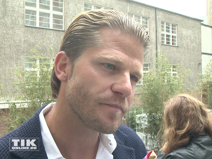 Ex-Bachelor Paul Janke beim Gala Fashion Brunch 2015
