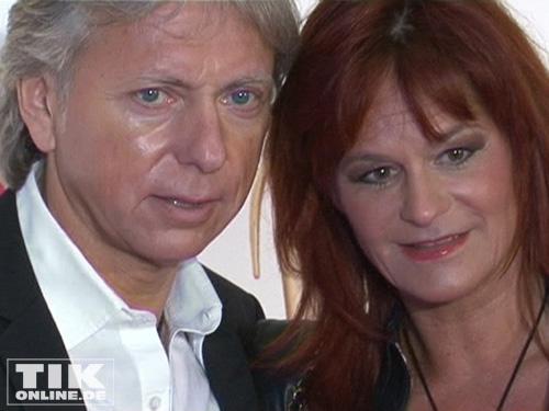 Sängerin Andrea Berg kam in Begleitung ihres Mannes Uli Ferber