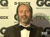 """Hollywood-Star Mads Mikkelsen bei den GQ """"Männer des Jahres"""" 2015 Awards"""