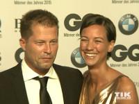 """Frisch verliebt: Til Schweiger und seine Freundin Marlene Shirley bei den GQ """"Männer des Jahres"""" 2015 Awards"""