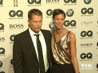 """Til Schweiger und seine Freundin Marlene Shirley bei den GQ """"Männer des Jahres"""" 2015 Awards"""